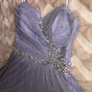 B Darlin Lavender Dress